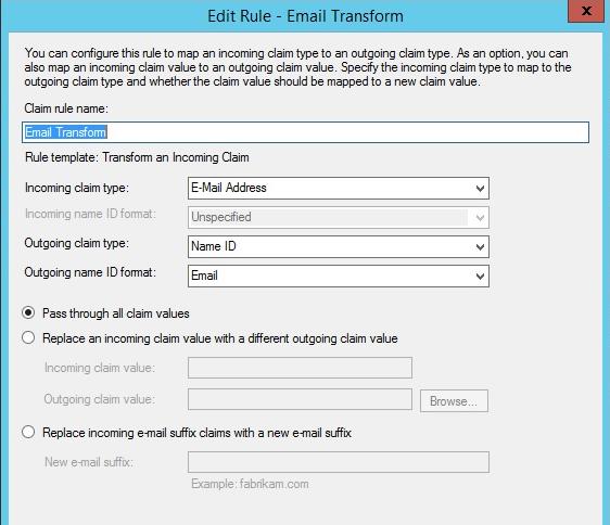 Setup SSO Using ADFS With SAML
